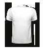 T-Shirt mit rundem Halsausschnitt, hinten bedruckt mit Ihrem Motiv